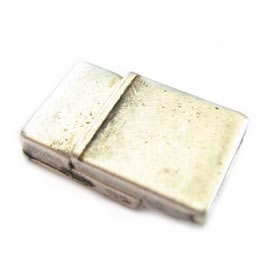 Zinc Metal Clasp hole 4x2,5mm