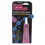 Bead enhance adhesive
