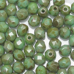 Faceted rounds 10mm
