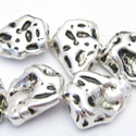 Irregular Metal bead zamak