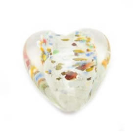 HappyMur heart bead