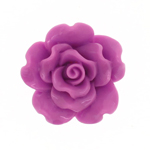 Synthetic cabochon rose