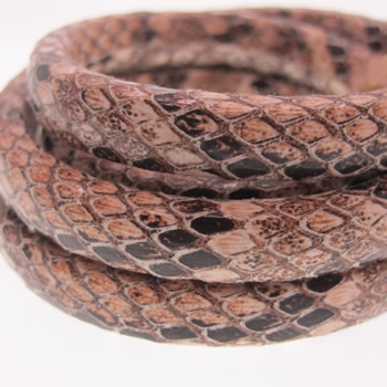 Snake Regaliz leather cord