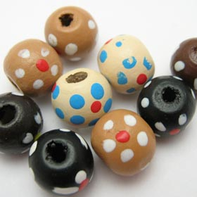 Indian bead wood
