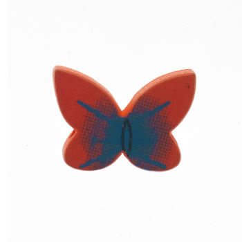 Butterfly pendant wood