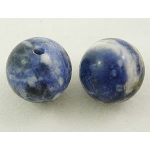 Natural gemestone bead half drilled