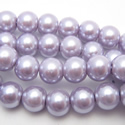 Crystal round pearl
