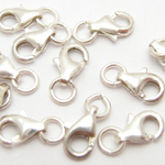 Loster claw clasp with ring