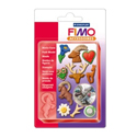 FIMO clay push mould