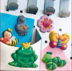 FIMO clay moulds