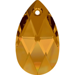 Swarovski pear 6106 38mm