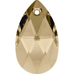 Swarovski pear 6106 28mm