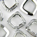 Square Ring Swarovski 4437 20mm