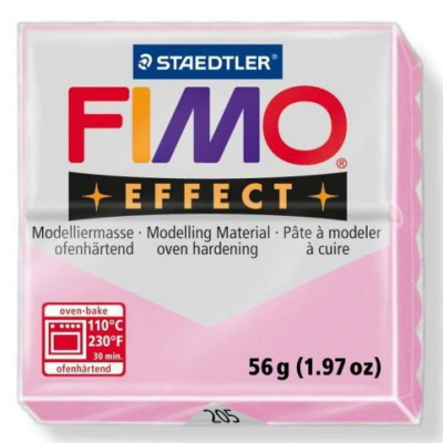 Pastel colours FIMO EFFECT polimer clay