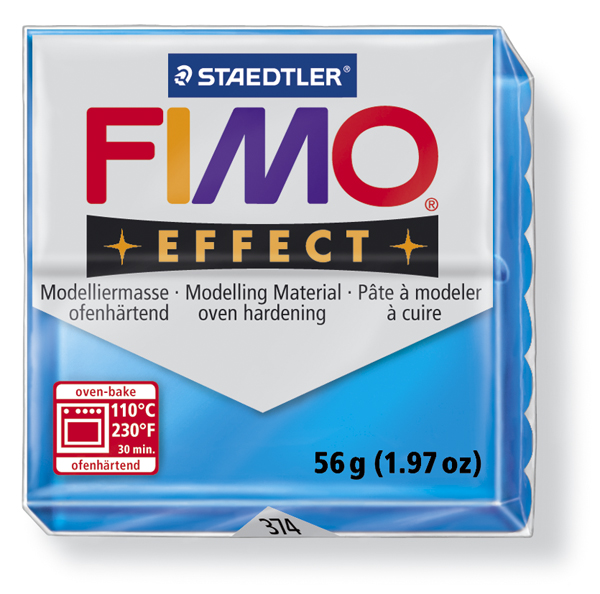 Translucent colours FIMO EFFECT polimer clay