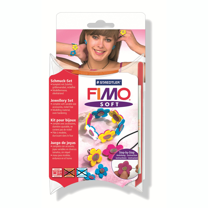 "FIMO SOFT ""flowers"" Jewellery sets"